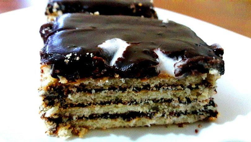 Pudingli bisküvili pasta nasıl yapılır?