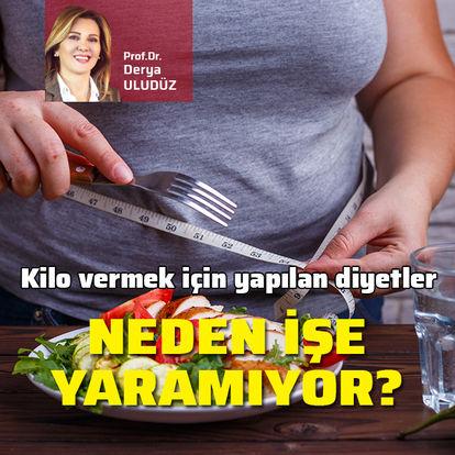 Kilo vermek için yapılan diyetler neden işe yaramıyor?