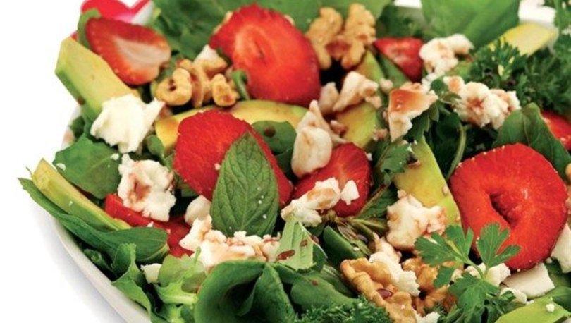 Tok tutan diyet salata nasıl yapılır?
