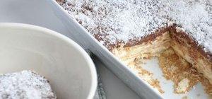 Bisküvili ve kolay muhallebili tatlılar nasıl yapılır? Bisküvili ve kolay muhallebili tatlı tarifleri..