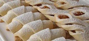 Elmalı kurabiye nasıl yapılır? Elmalı kurabiye tarifi..