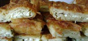 Sodalı börek tarifi, nasıl yapılır? Peynirli Sodalı börek nasıl yapılır?