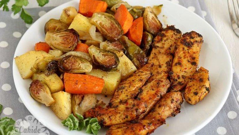 Fırında sebzeli tavuk nasıl yapılır?