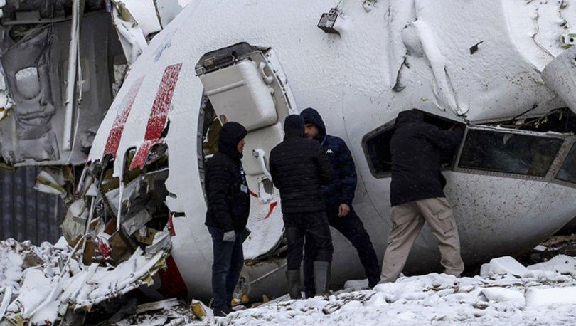 Sabiha Gökçen'deki uçak kazası