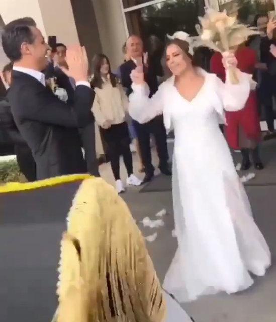 Merve Özbey ile Kenan Koçak evlendi