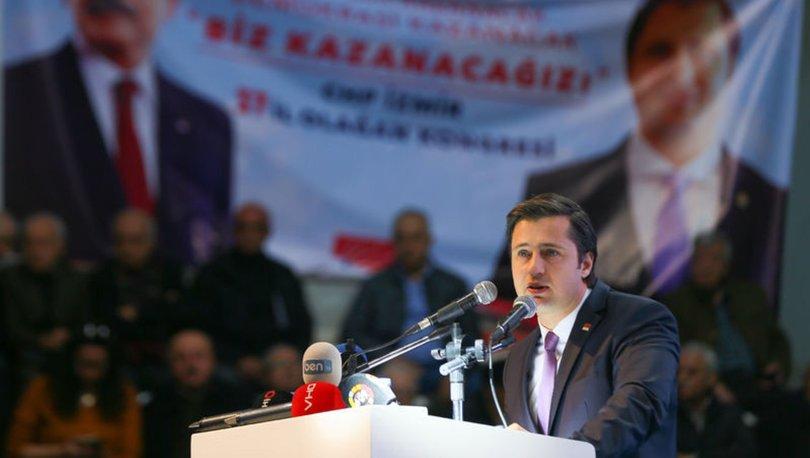 CHP İzmir İl Başkanlığına yeniden Deniz Yücel seçildi