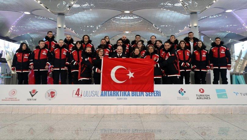 Antarktika Türkiye sefer