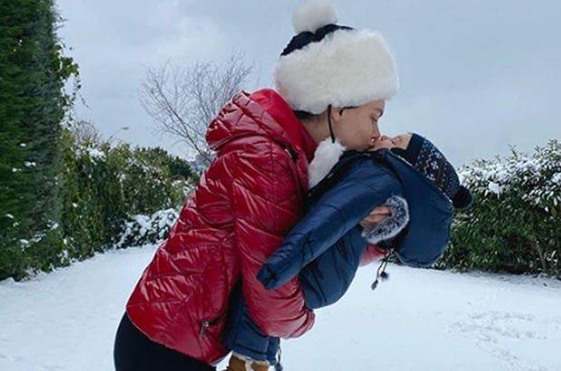 """""""Yakışıklı kardan adamım"""""""
