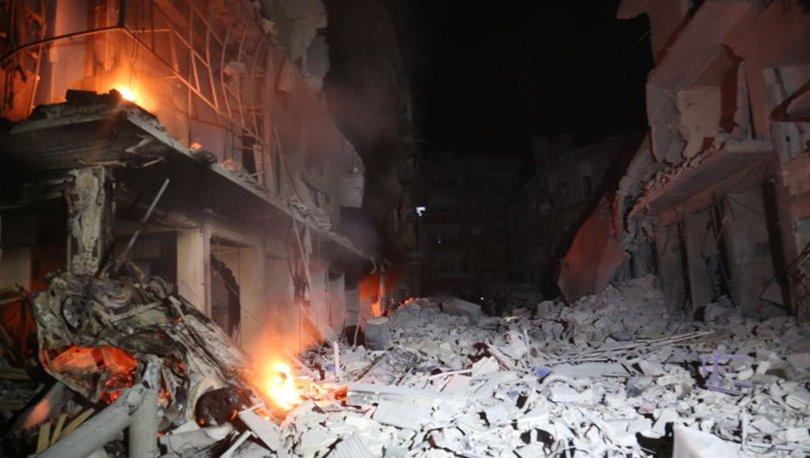 Esed rejimi ve Rusya'nın İdlib Gerginliği Azaltma Bölgesi'ne saldırılarında 17 sivil öldü