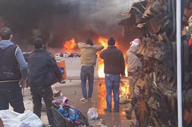 Afrin'deki patlamada ölü ve yaralılar var