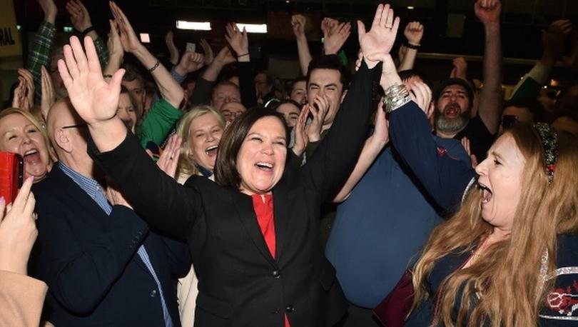 İrlanda'da seçimden milliyetçi ve solcu parti Sinn Fein birinci çıktı