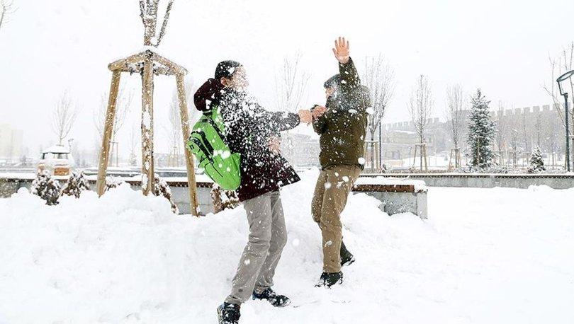 KAR TATİLİ son dakika! Yarın okullar tatil mi? 10 Şubat Pazartesi hangi illerde okullar tatil!