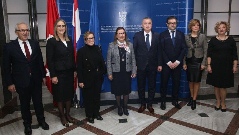 Türkiye ile Hırvatistan ticaret hacmi
