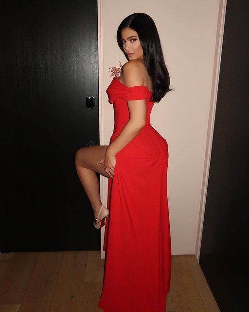 Kylie Jenner'ın iddialı Oscar tercihi - Magazin haberleri