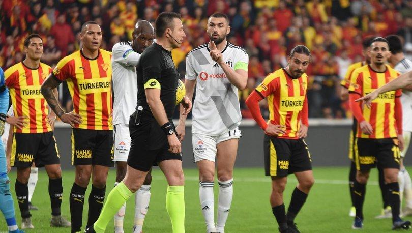 Göztepe - Beşiktaş maçı