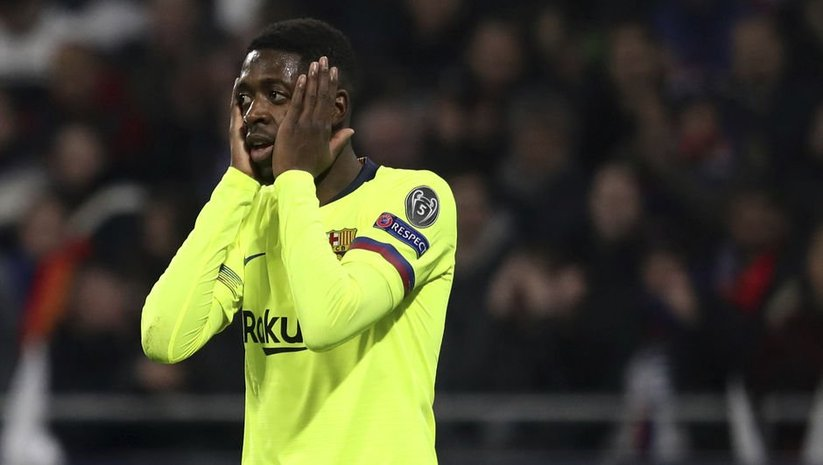 Barcelona'da Dembele şoku