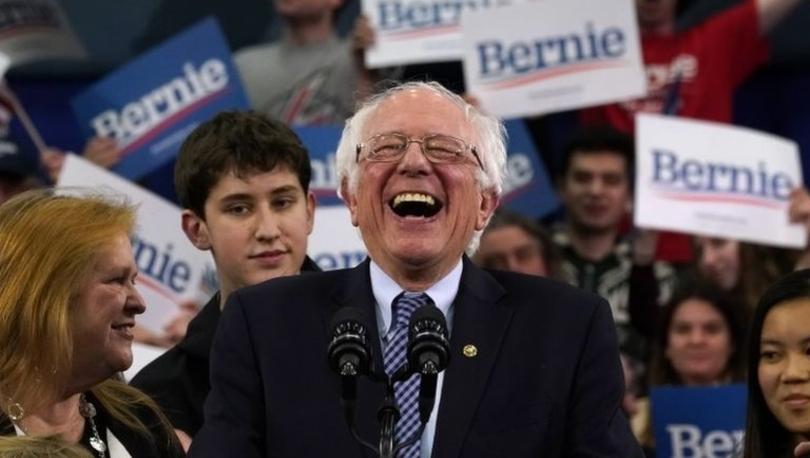 Bernie Sanders, Demokrat Parti'nin New Hampshire eyaleti ön seçiminde birinci oldu: