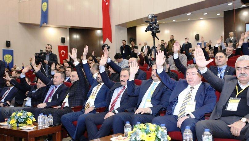 MKE Ankaragücü tarihine yön verecek kongre sona erdi