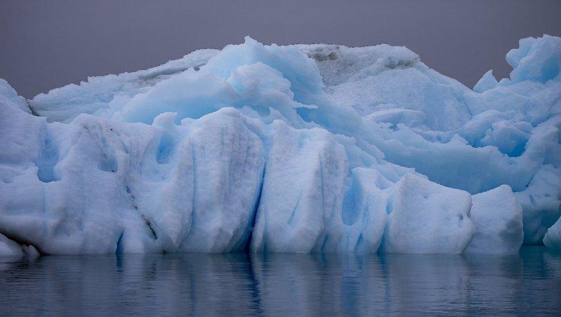 Buzul yok oldu