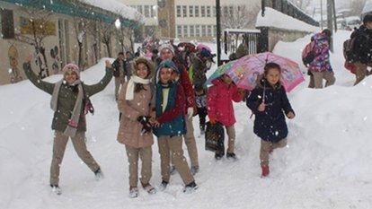 Yarın okullar tatil mi kar tatili