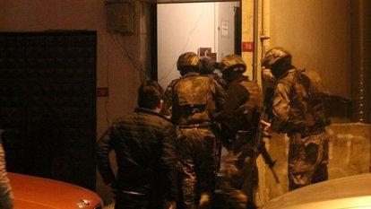 İstanbul'da suç örgütüne yönelik operasyon