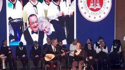 'İyilik Senfonisi' İstanbul Adalet Sarayı'nda konser verdi