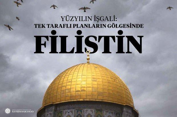 İletişim Başkanlığı'ndan 'Filistin' kitabı
