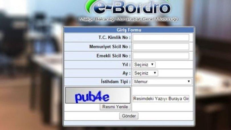 e-Bordro maaş sorgulama nasıl yapılır? e-Bordro Şubat 2020 maaş görüntüleme!