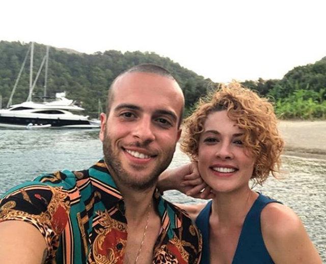 Açelya Topaloğlu ile Kenan Acar'dan aşk pozu - Magazin haberleri