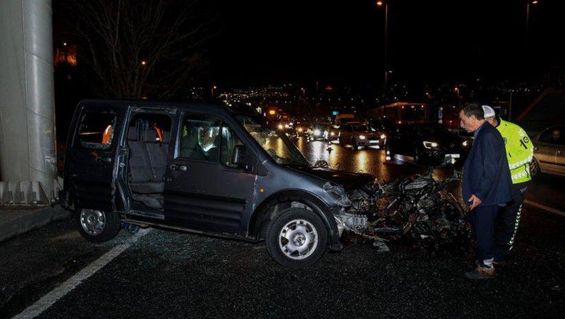 Beyoğlu'nda trafik kazası!