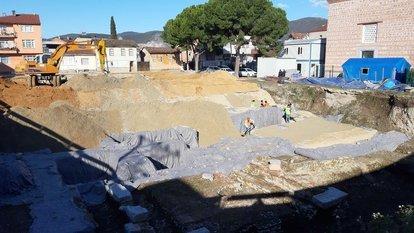 Bizans dönemi kalıntıları