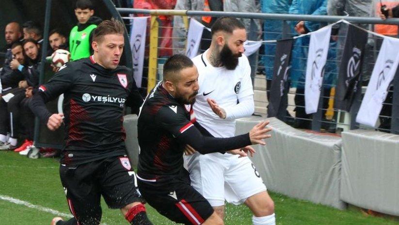 Kritik maçta kazanan Samsunspor!