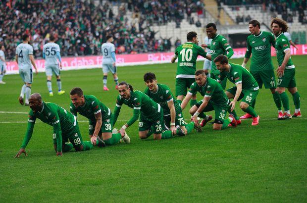 Kritik maçta kazanan Bursaspor!
