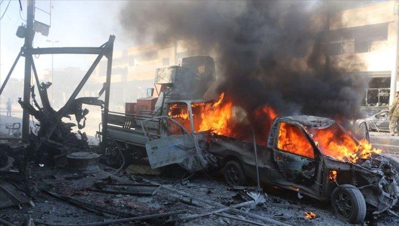 Tel Abyad'da bombalı terör saldırısı...