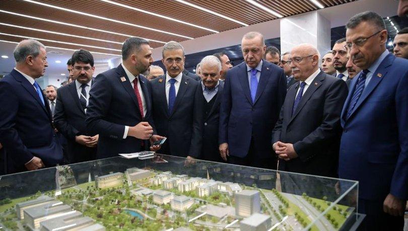 Cumhurbaşkanı Erdoğan'dan 'Teknopark'...