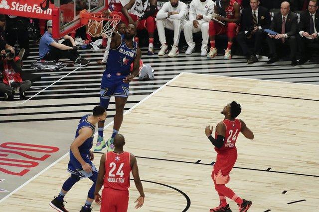 NBA All-Star maçını kim kaznadı? LeBron James - Kawhi Leonard, Giannis Antetokounmpo...