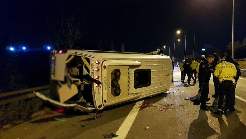 Düğün dönüşü trafik kazası Yaralılar var