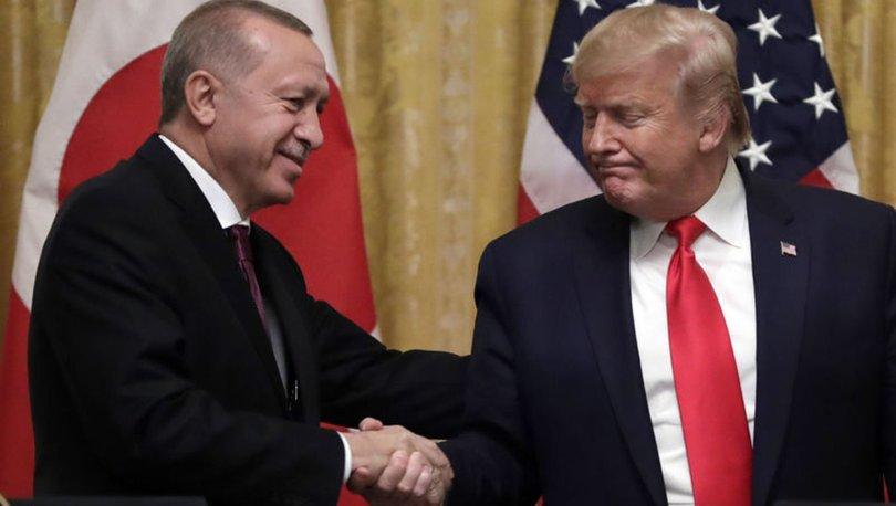 Beyaz Saray'dan Cumhurbaşkanı Recep Tayyip Erdoğan ve ABD Başkanı Donald Trump arasındaki telefon görüşmesine ilişkin yapılan açıklamada, 'Trump, Erdoğan'a Türkiye'nin insani bir felaketi önlemek için gösterdiği çabalardan ötürü teşekkür etti.' bilgisi paylaşıldı