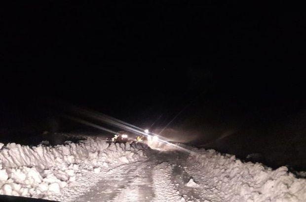30 köy yolu ulaşıma kapandı