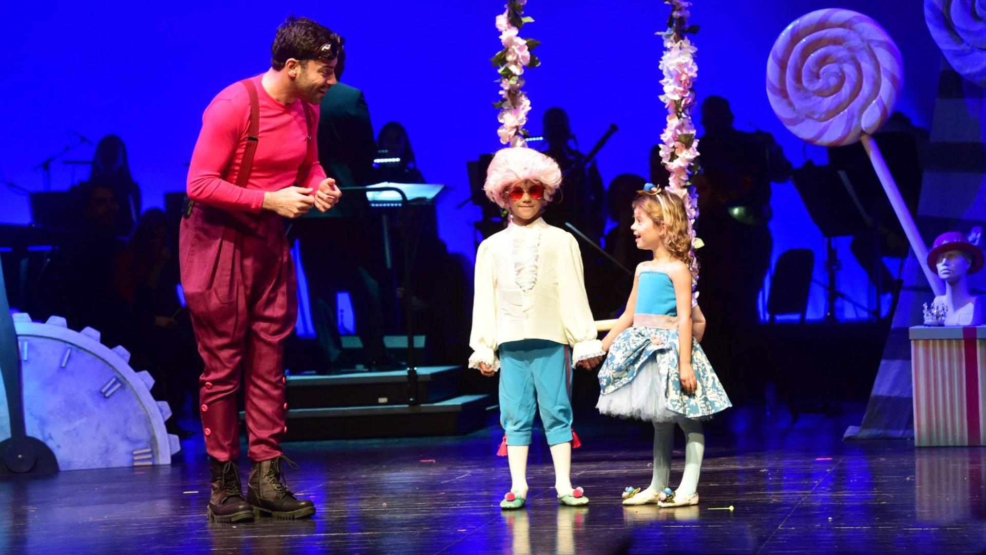 Çocuk operası sahnelendi