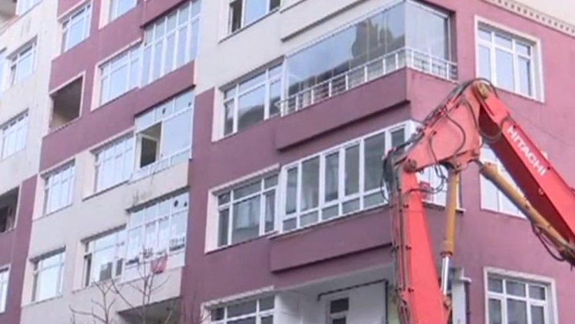 İstanbul'da o binalar da yıkılıyor!