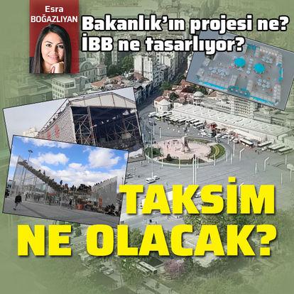 Taksim Meydanı ne olacak?