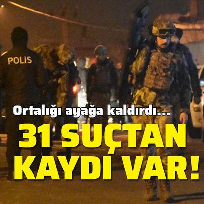 31 ayrı suçtan kaydı bulunan cezaevi firarisi yakalandı