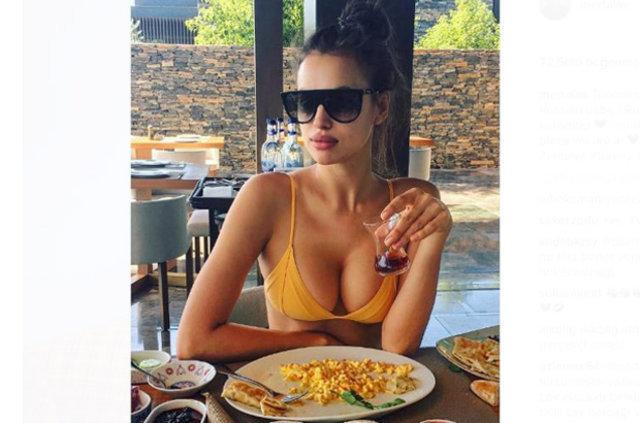 Irina Shayk'tan Mert Alaş'a: İyi ki doğdun Türk lokumu! - Magazin haberleri