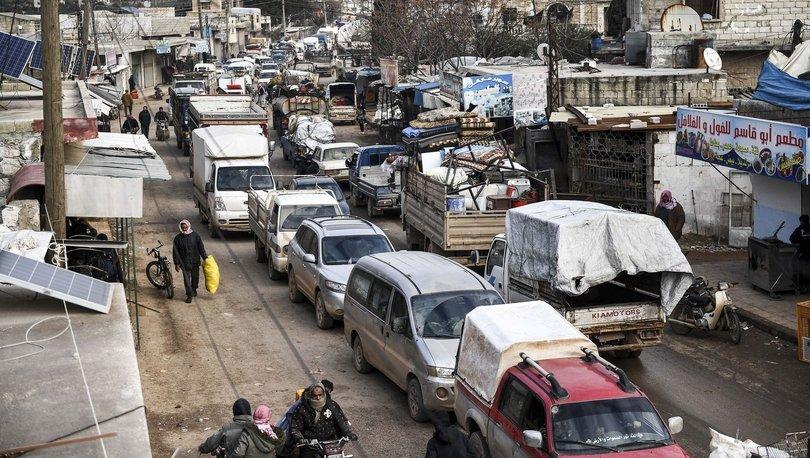 İdlib'de saldırılar nedeniyle günde yaklaşık 10 bin kişi yer değiştiriyor!