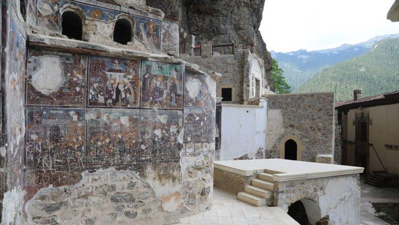 Dünyaca ünlü Sümela Manastırı teleferikle gezilebilecek