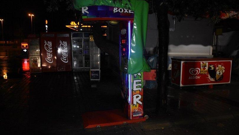 Adana'da boks makinesi soygunu