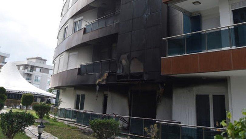 KORKUTAN YANGIN! Rezidansta korkutan yangın!