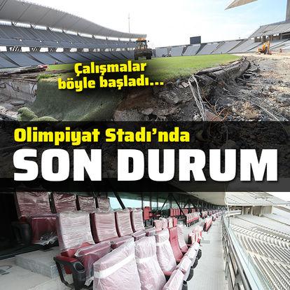 Olimpiyat Stadı'nın son hali