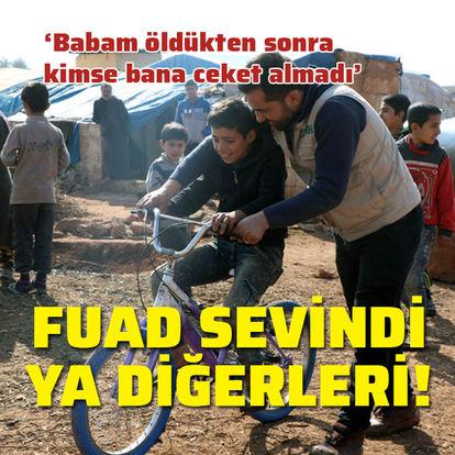 Suriyeli Fuad sevindi ya diğerleri!